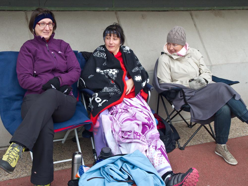 Barbara, Karin und Gaby