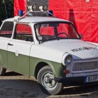 Polizeiauto aus der ehemaligen DDR