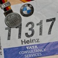 Startnummer und Medaille !!!