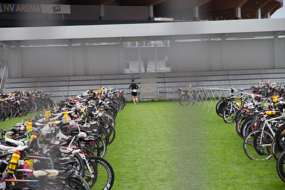 90 km Bike liegen hinter mir