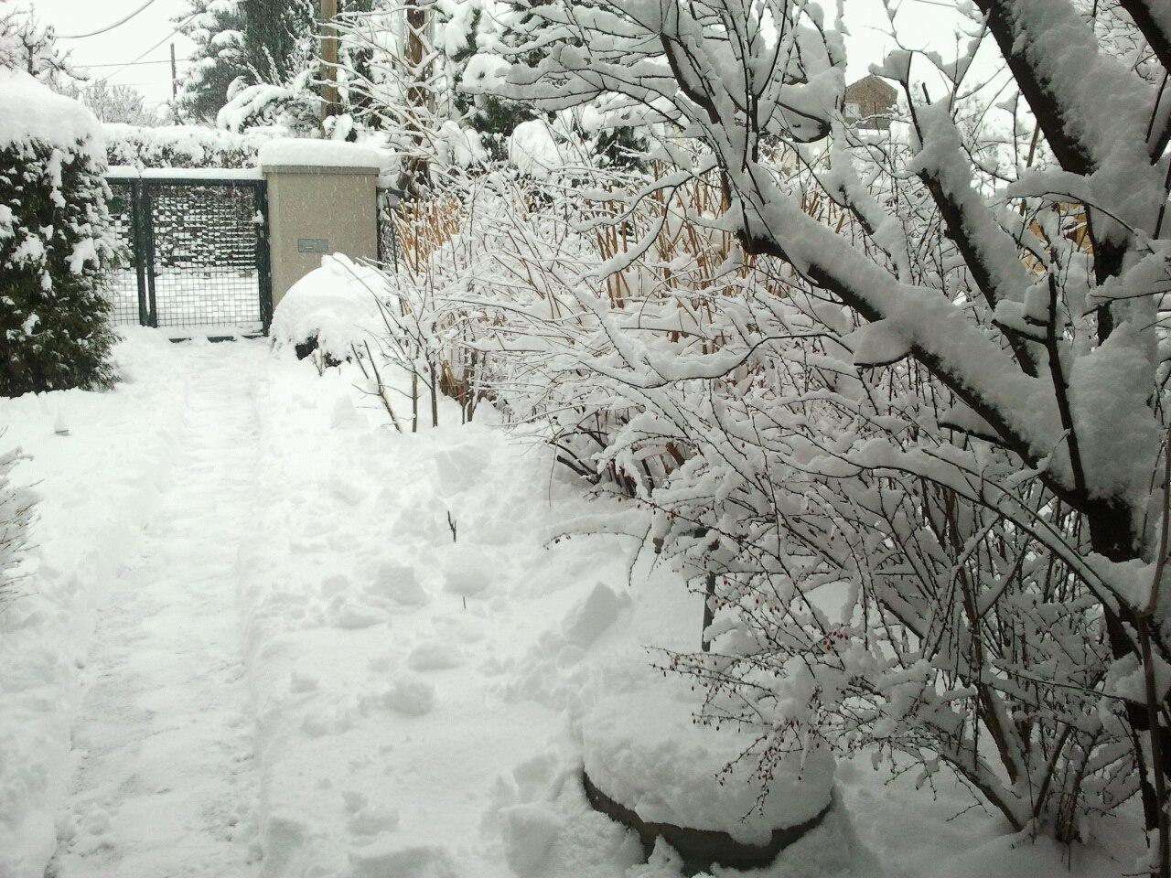 Sehr viel Schnee im Februar