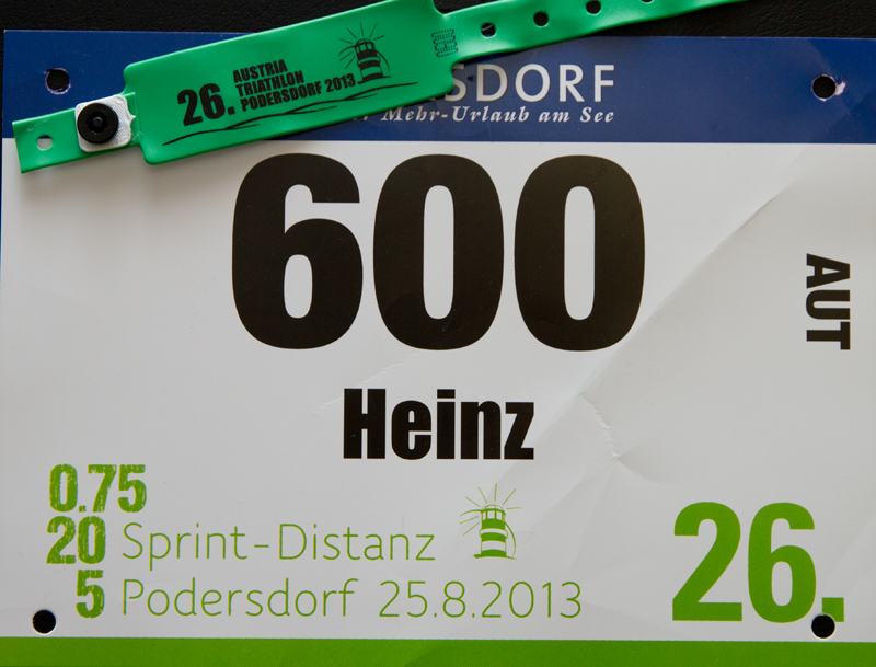 Sprinttriathlon Podersdorf 2013