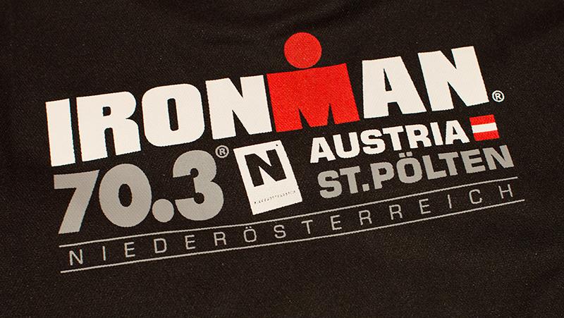 "T-Shirt ""IRONMAN 70.3 Training"" Rückseite"
