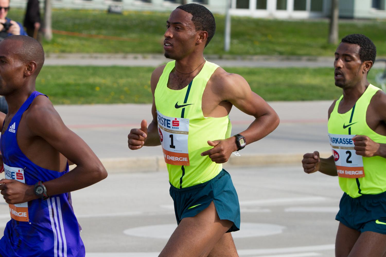 Wien-Marathon 2015 - Getu Feleke