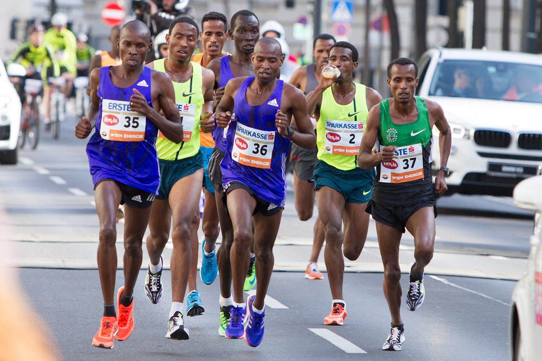 Wien-Marathon 2015 - Lemma Sisay