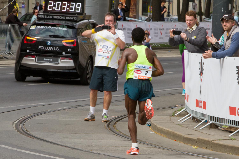 Wien Marathon 2015 - Sieger Lemma Sisay