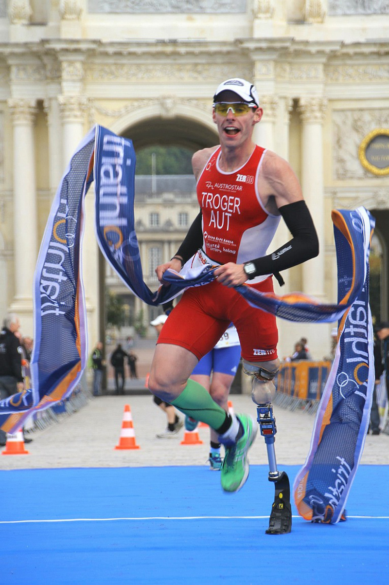 Christian Troger - Weltmeister im Duathlon 2012 (@Marco Bardella)